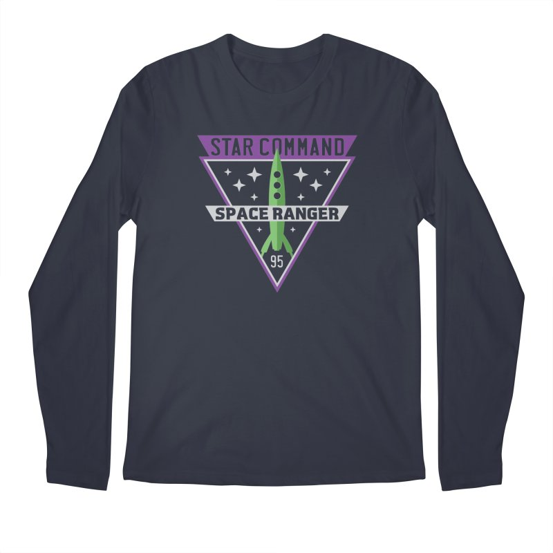 Star Command Men's Regular Longsleeve T-Shirt by Greg Gosline Design Co.