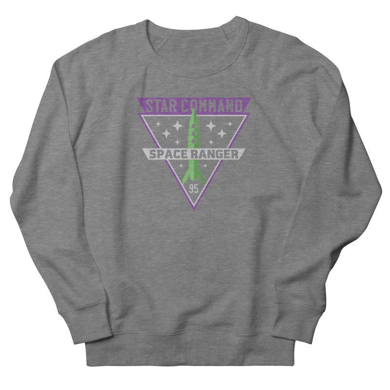 Star Command Women's French Terry Sweatshirt by Greg Gosline Design Co.
