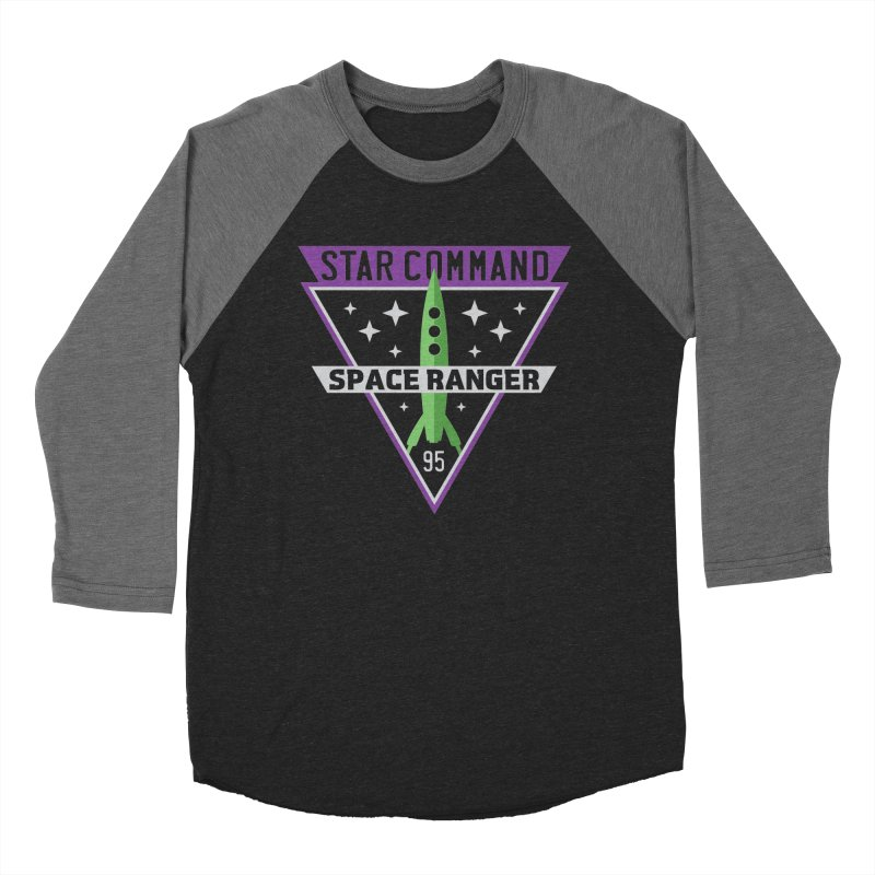 Star Command Women's Baseball Triblend Longsleeve T-Shirt by Greg Gosline Design Co.