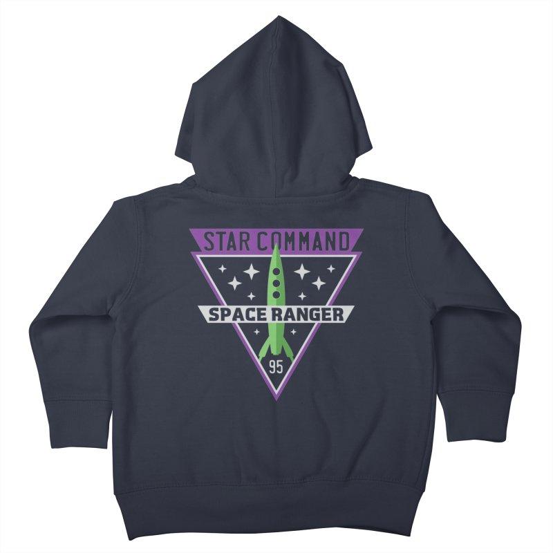 Star Command Kids Toddler Zip-Up Hoody by Greg Gosline Design Co.