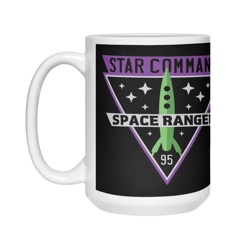 Star Command Accessories Mug by Greg Gosline Design Co.