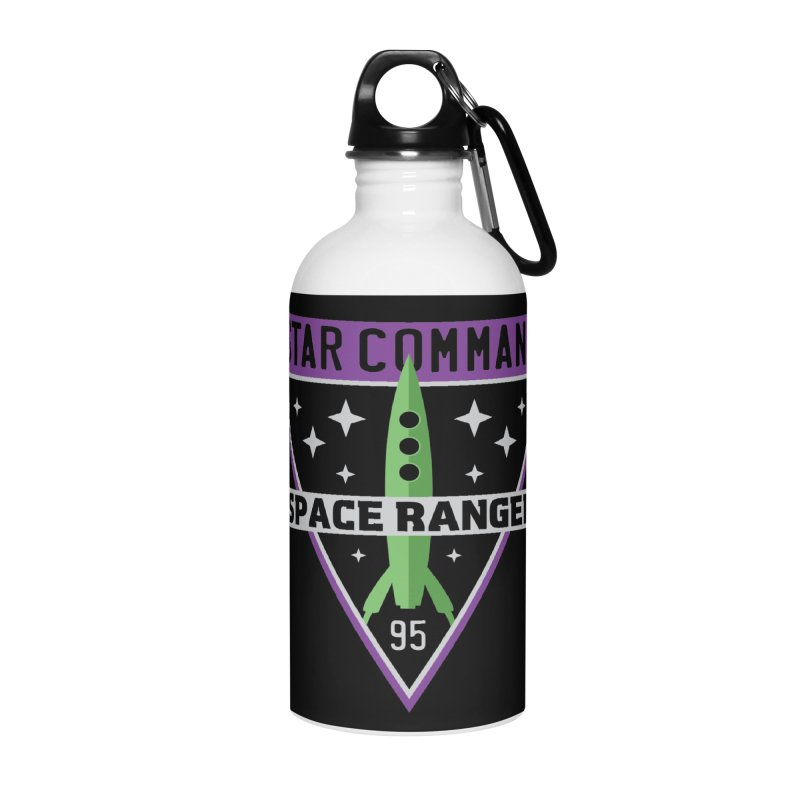 Star Command Accessories Water Bottle by Greg Gosline Design Co.
