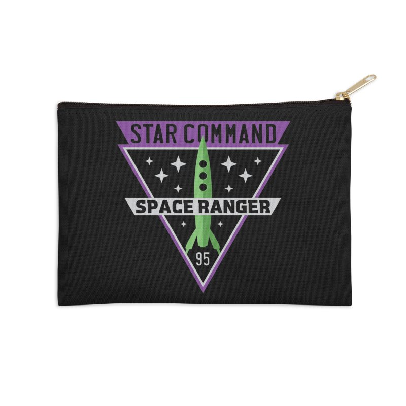 Star Command Accessories Zip Pouch by Greg Gosline Design Co.