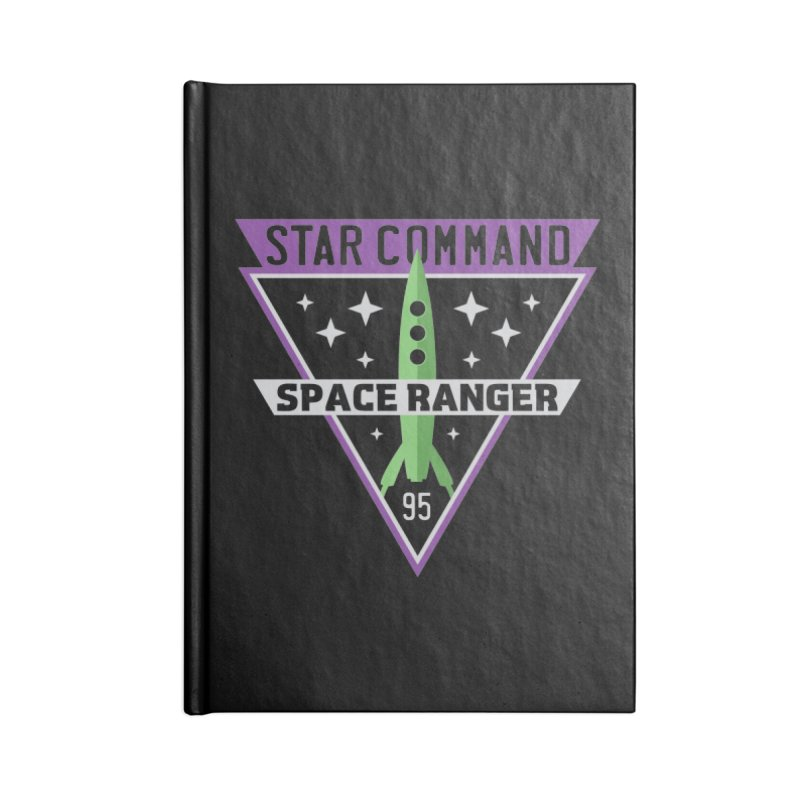Star Command Accessories Lined Journal Notebook by Greg Gosline Design Co.