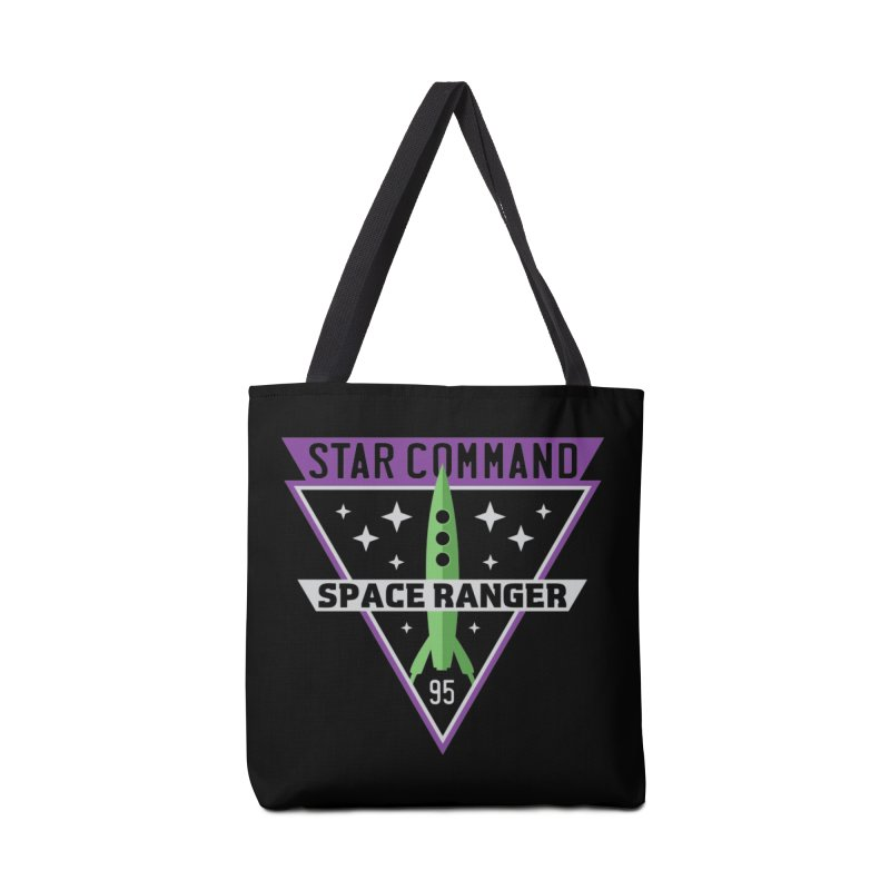 Star Command Accessories Tote Bag Bag by Greg Gosline Design Co.