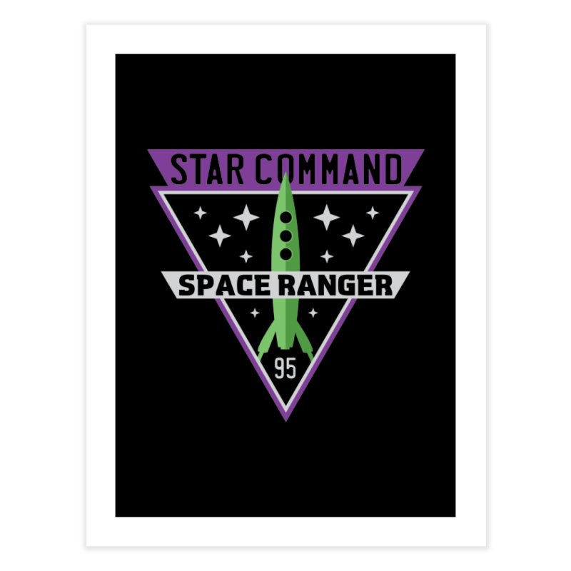 Star Command Home Fine Art Print by Greg Gosline Design Co.