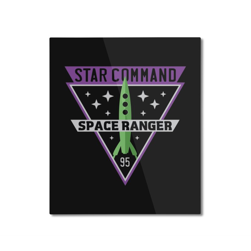 Star Command Home Mounted Aluminum Print by Greg Gosline Design Co.