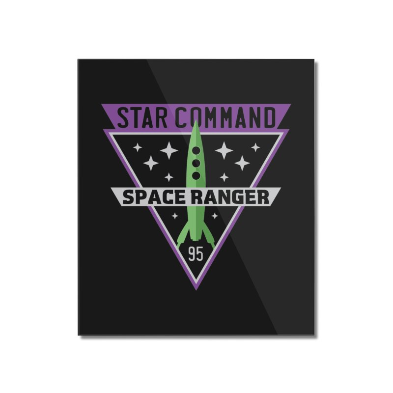 Star Command Home Mounted Acrylic Print by Greg Gosline Design Co.
