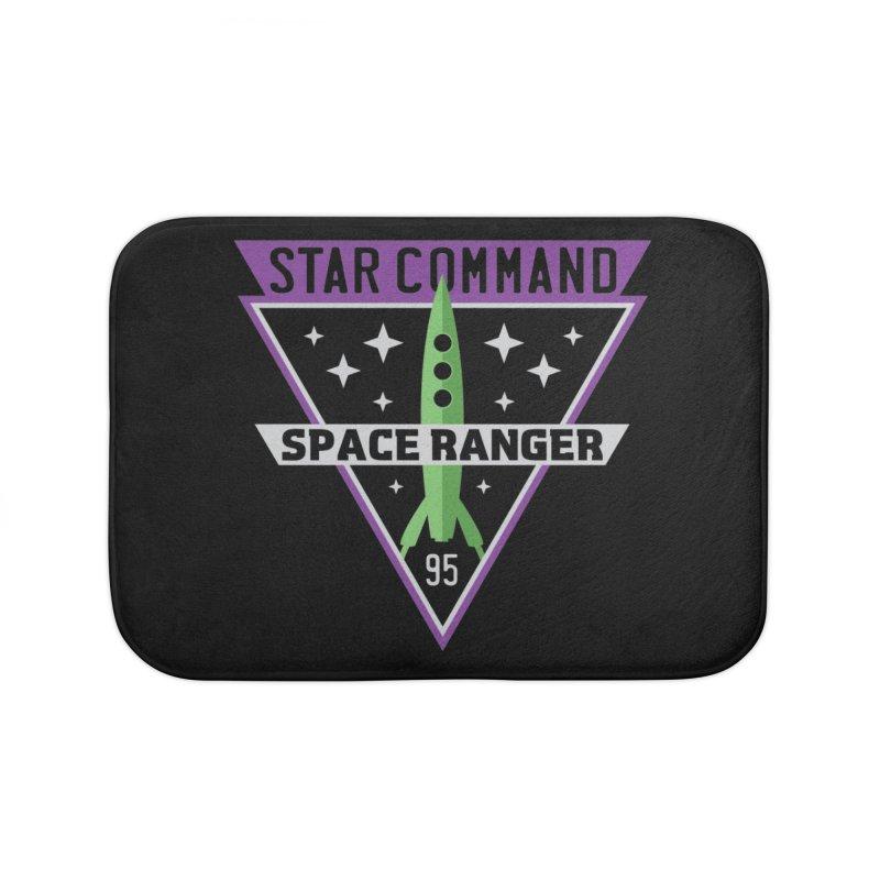 Star Command Home Bath Mat by Greg Gosline Design Co.