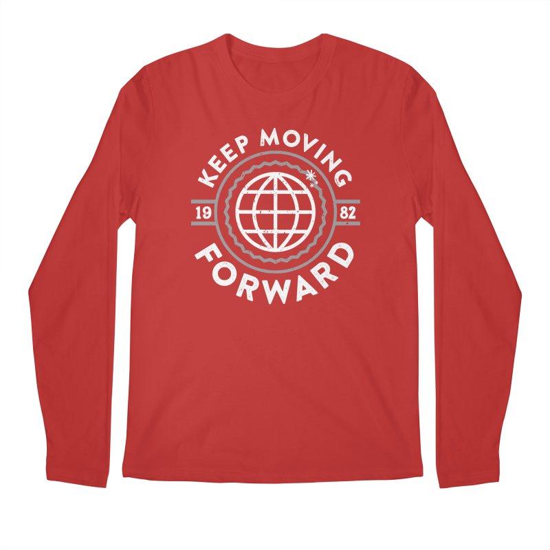 Keep Moving Forward Men's Regular Longsleeve T-Shirt by Greg Gosline Design Co.