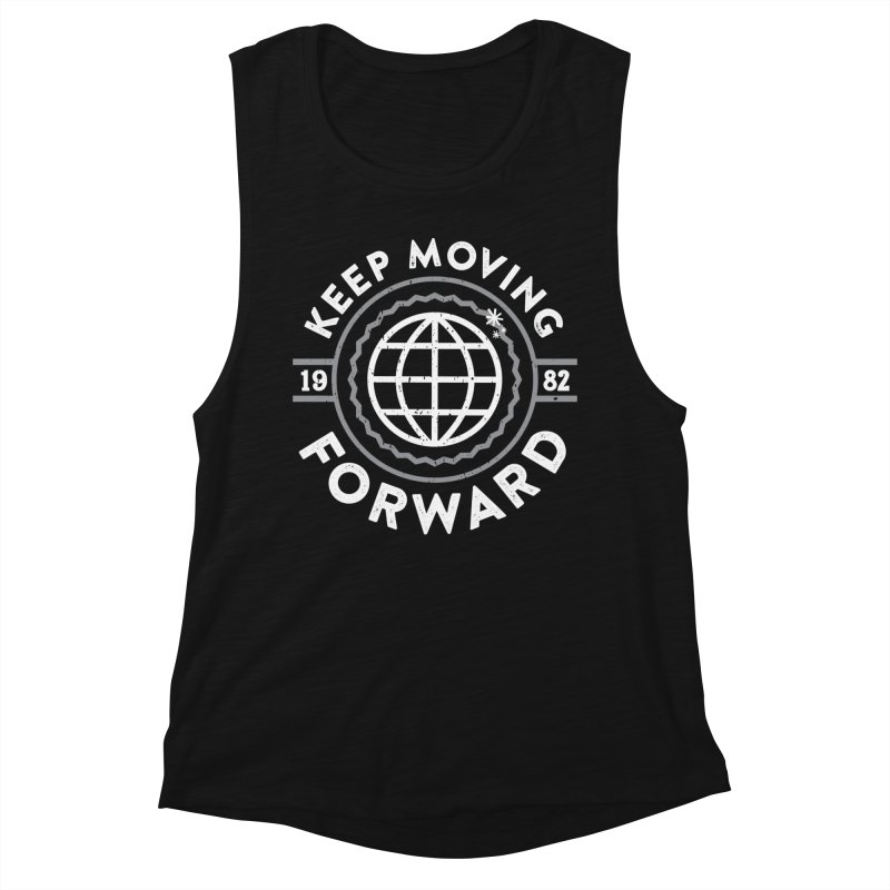 Keep Moving Forward Women's Tank by Greg Gosline Design Co.