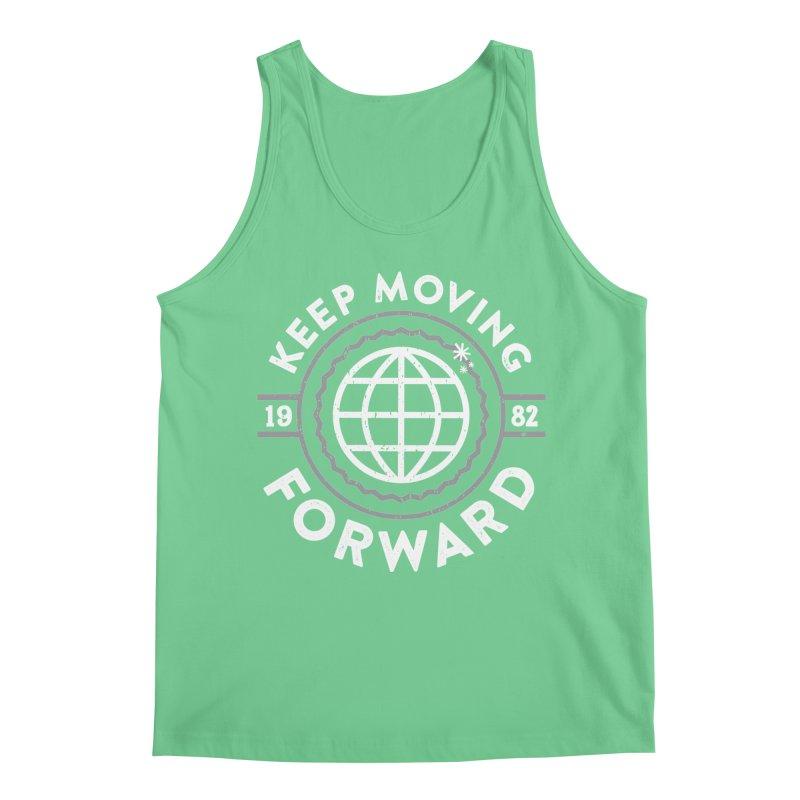 Keep Moving Forward Men's Tank by Greg Gosline Design Co.