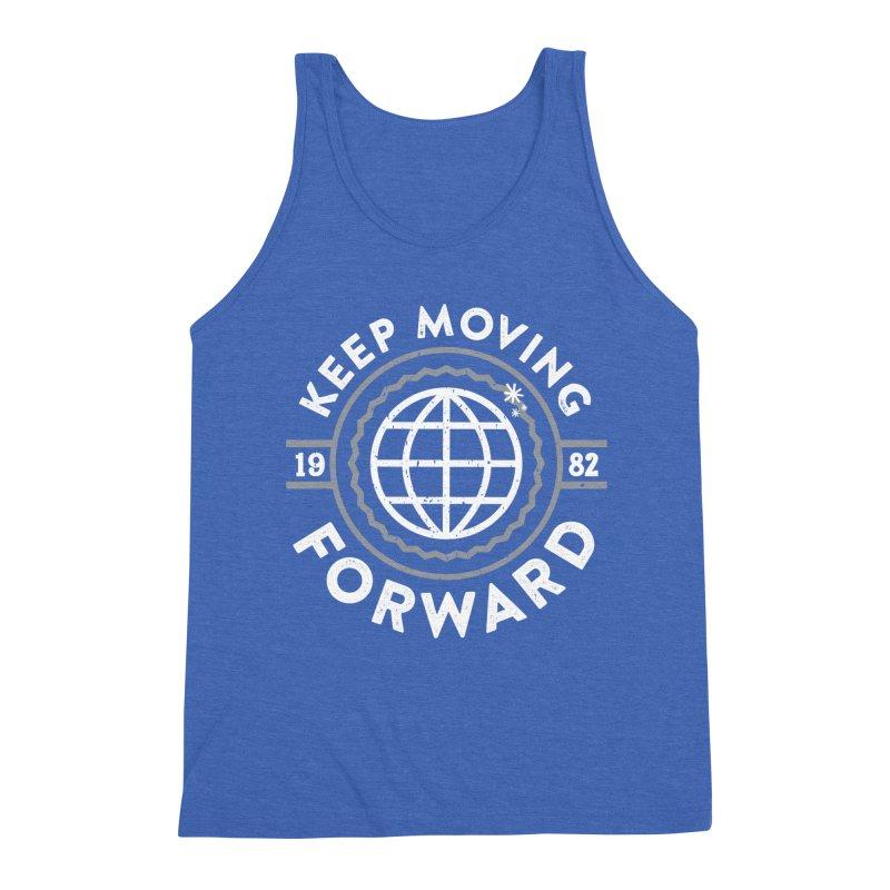 Keep Moving Forward Men's Triblend Tank by Greg Gosline Design Co.