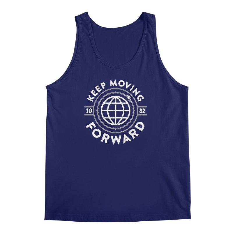 Keep Moving Forward Men's Regular Tank by Greg Gosline Design Co.