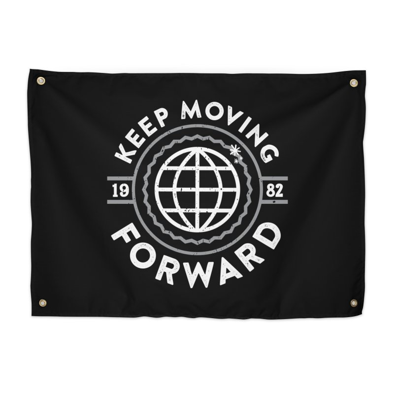 Keep Moving Forward Home Tapestry by Greg Gosline Design Co.