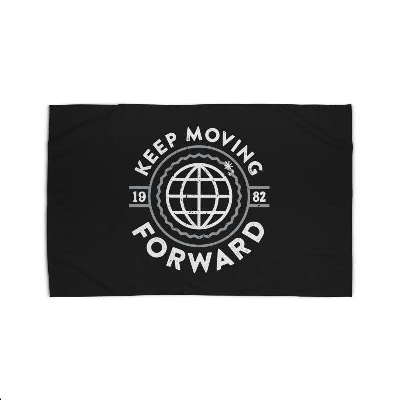 Keep Moving Forward Home Rug by Greg Gosline Design Co.