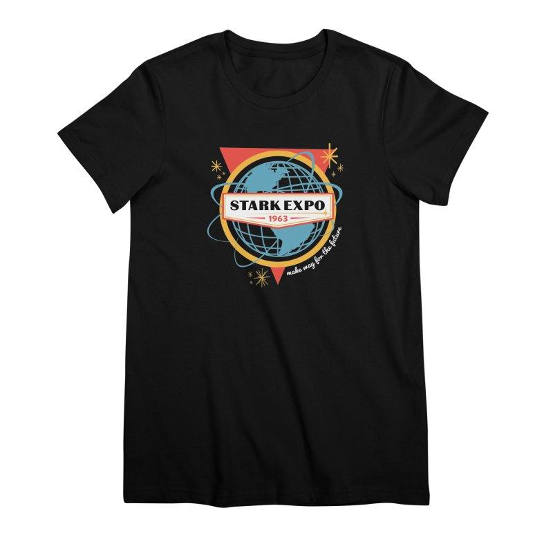 Expo 63 Women's Premium T-Shirt by Greg Gosline Design Co.