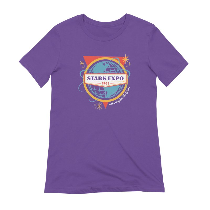 Expo 63 Women's Extra Soft T-Shirt by Greg Gosline Design Co.