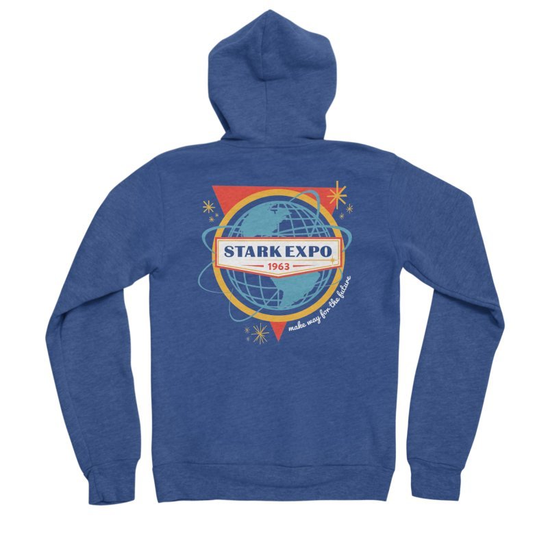 Expo 63 Men's Zip-Up Hoody by Greg Gosline Design Co.