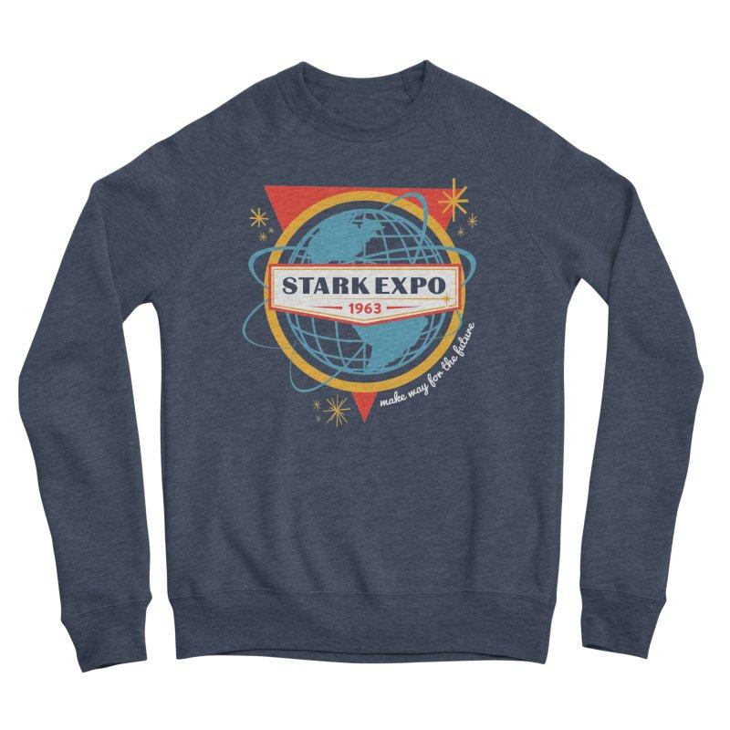 Expo 63 Women's Sponge Fleece Sweatshirt by Greg Gosline Design Co.