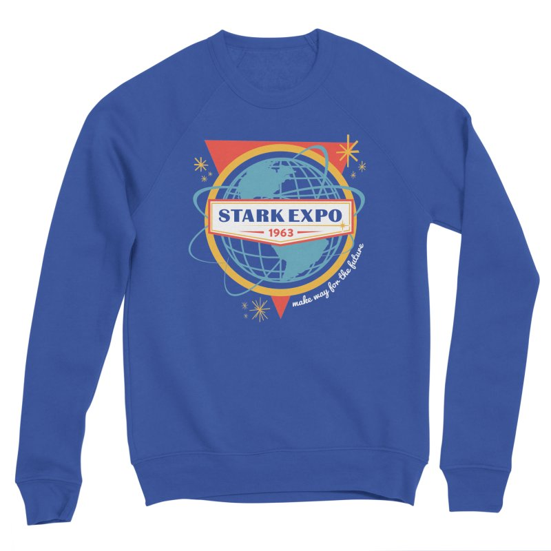 Expo 63 Women's Sponge Fleece Sweatshirt by Greg Gosline Design Co.