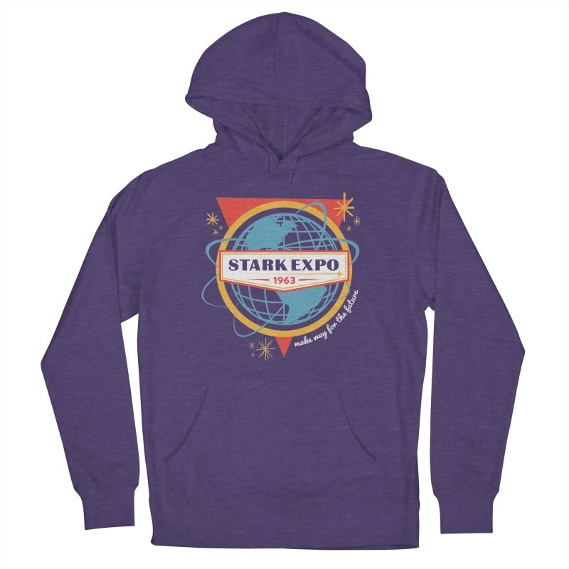 Expo 63 Women's French Terry Pullover Hoody by Greg Gosline Design Co.