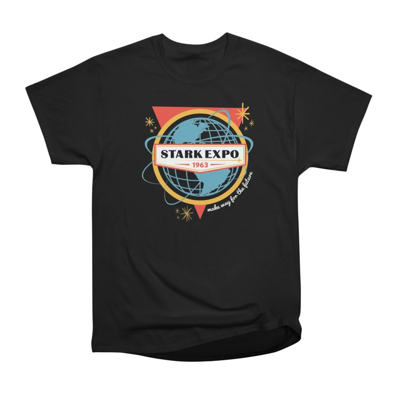 Expo 63 Women's Heavyweight Unisex T-Shirt by Greg Gosline Design Co.