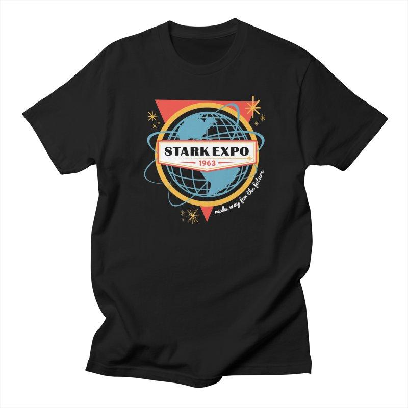 Expo 63 Men's Regular T-Shirt by Greg Gosline Design Co.