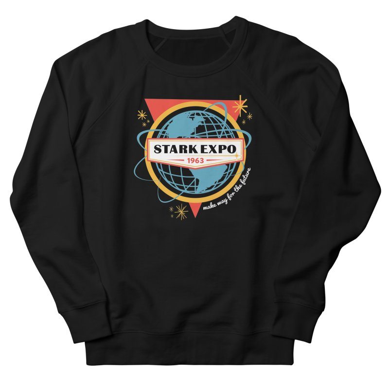 Expo 63 Women's French Terry Sweatshirt by Greg Gosline Design Co.