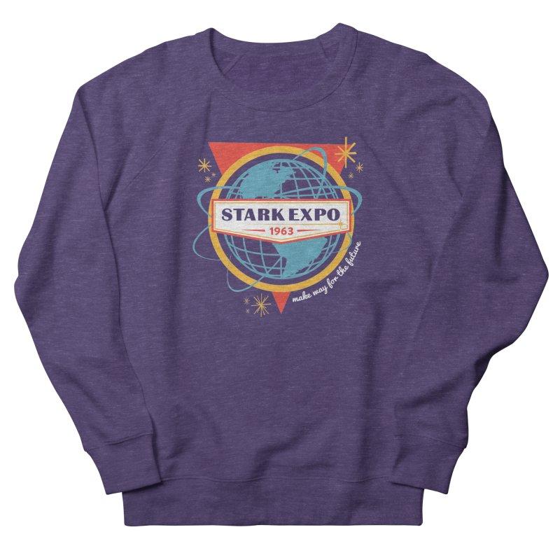 Expo 63 Men's French Terry Sweatshirt by Greg Gosline Design Co.