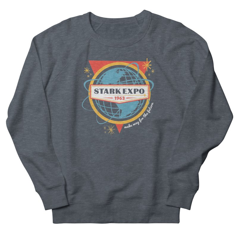 Expo 63 Men's French Terry Sweatshirt by Greg Gosline Design Co.
