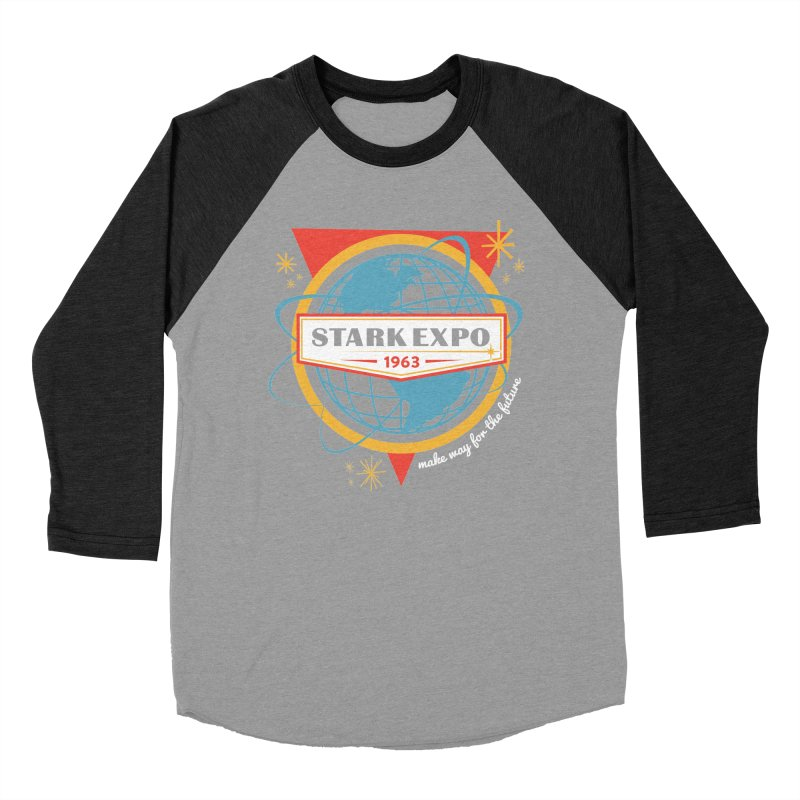 Expo 63 Women's Baseball Triblend Longsleeve T-Shirt by Greg Gosline Design Co.