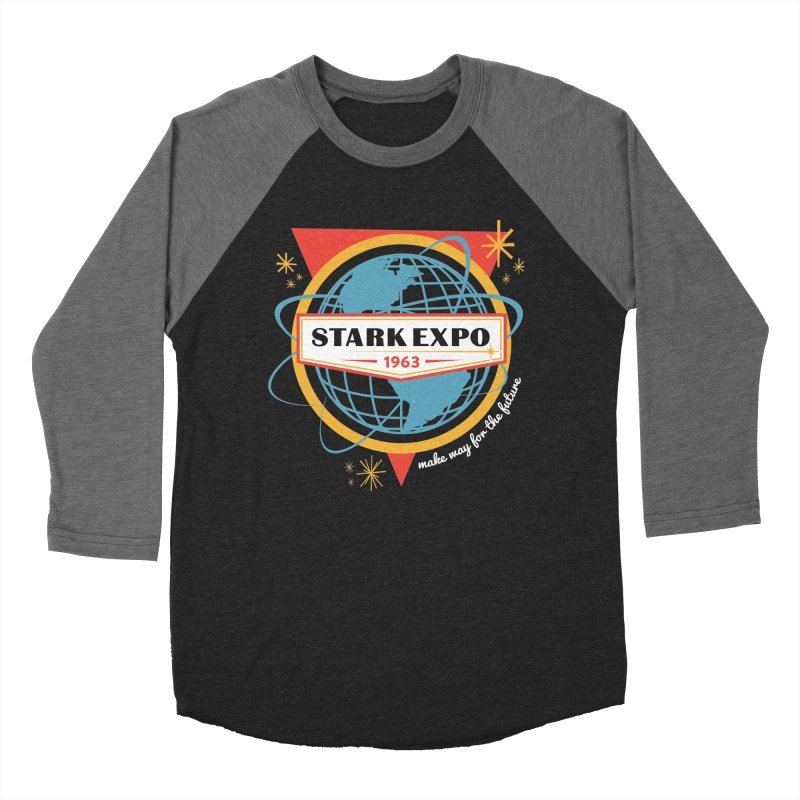 Expo 63 Men's Baseball Triblend Longsleeve T-Shirt by Greg Gosline Design Co.