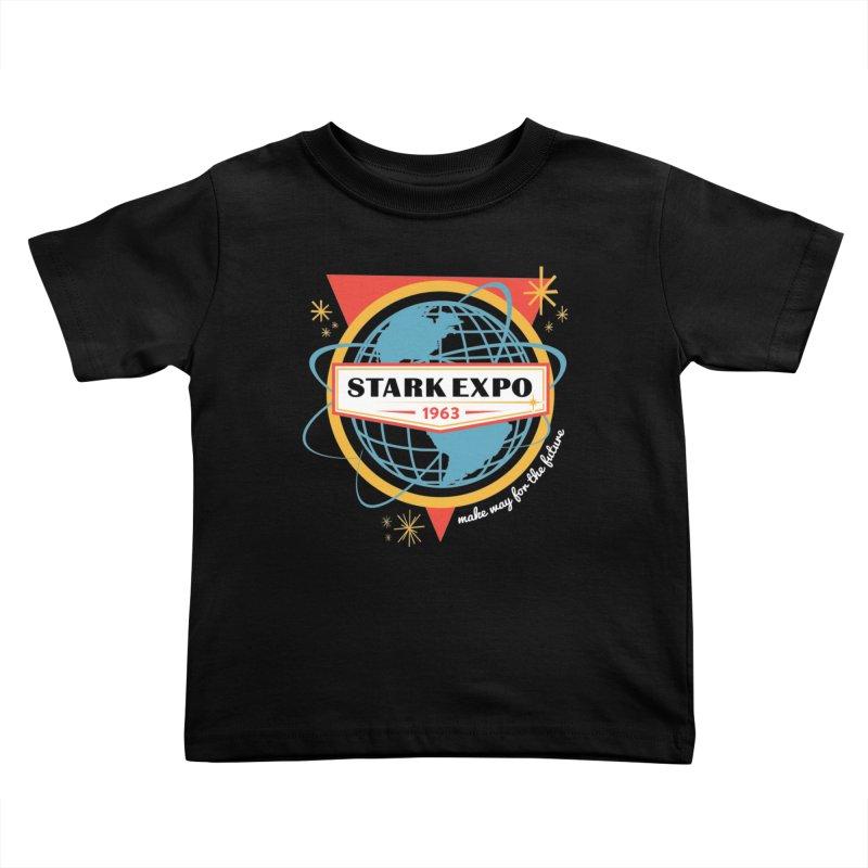 Expo 63 Kids Toddler T-Shirt by Greg Gosline Design Co.