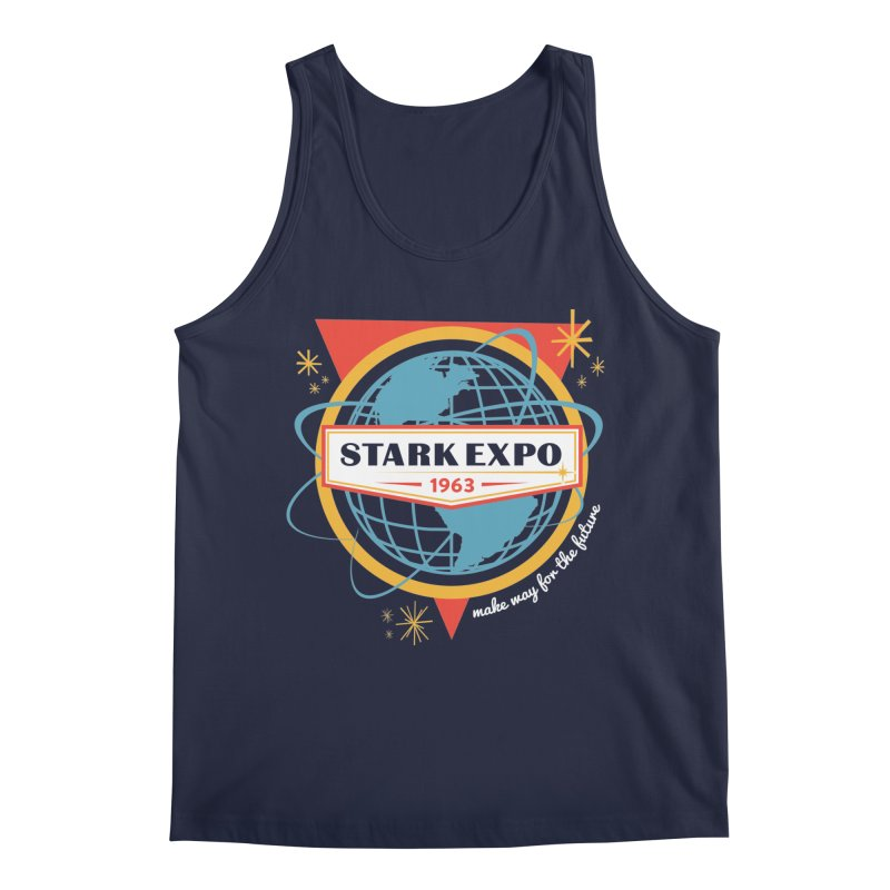 Expo 63 Men's Regular Tank by Greg Gosline Design Co.