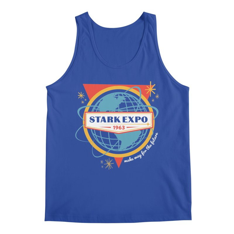 Expo 63 Men's Tank by Greg Gosline Design Co.