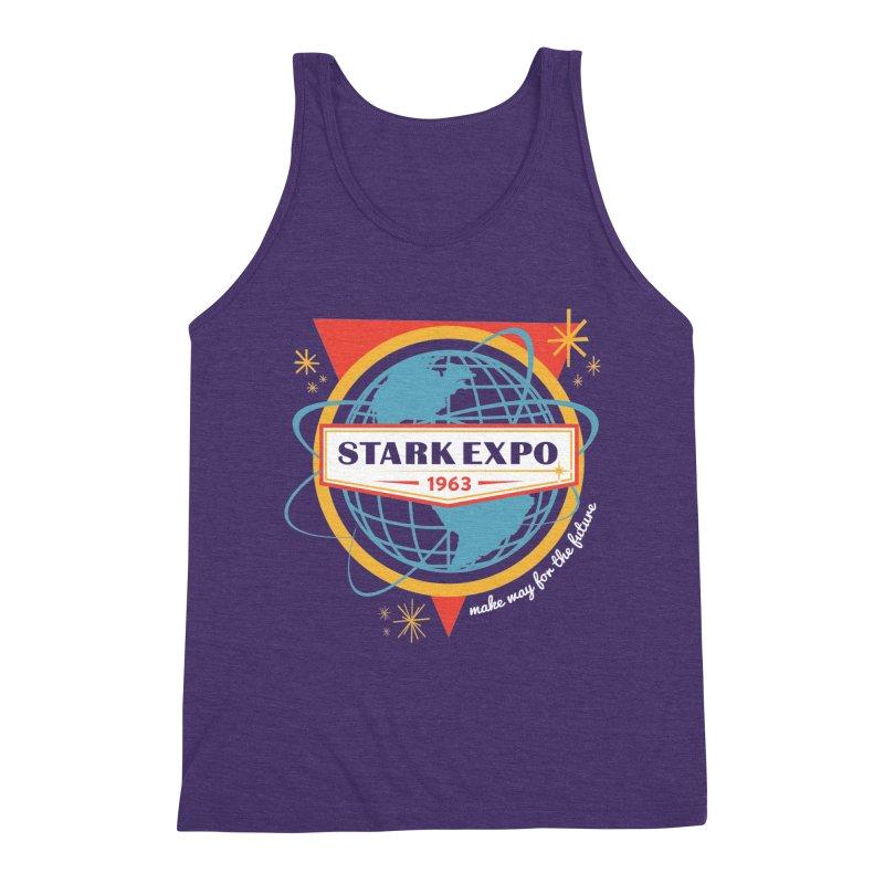 Expo 63 Men's Triblend Tank by Greg Gosline Design Co.