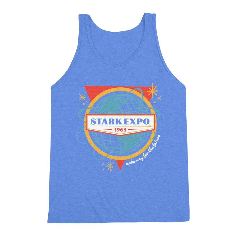 Expo 63 Men's Triblend Tank by Greg Gosline Design Co.
