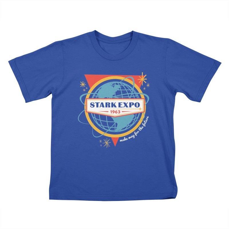 Expo 63 Kids T-Shirt by Greg Gosline Design Co.