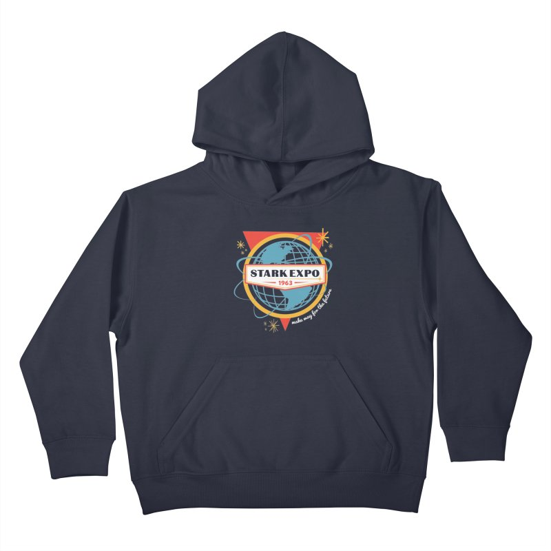 Expo 63 Kids Pullover Hoody by Greg Gosline Design Co.