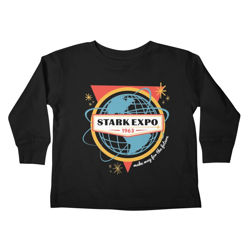 Expo 63 Kids Toddler Longsleeve T-Shirt by Greg Gosline Design Co.
