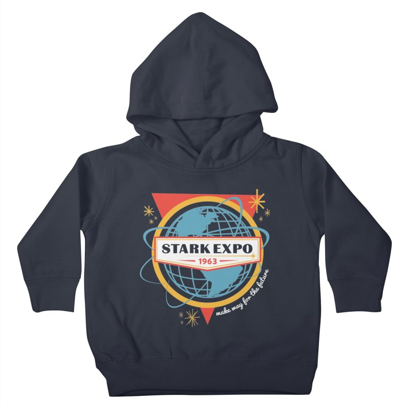 Expo 63 Kids Toddler Pullover Hoody by Greg Gosline Design Co.