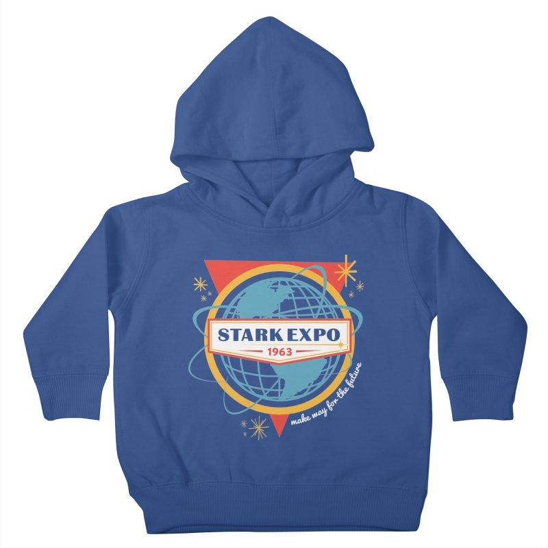 Expo 63 Kids Toddler Pullover Hoody by Greg Gosline Design Co.
