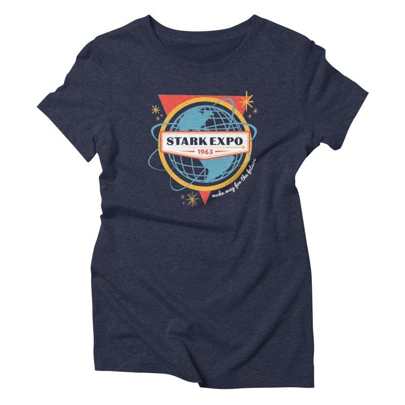 Expo 63 Women's T-Shirt by Greg Gosline Design Co.