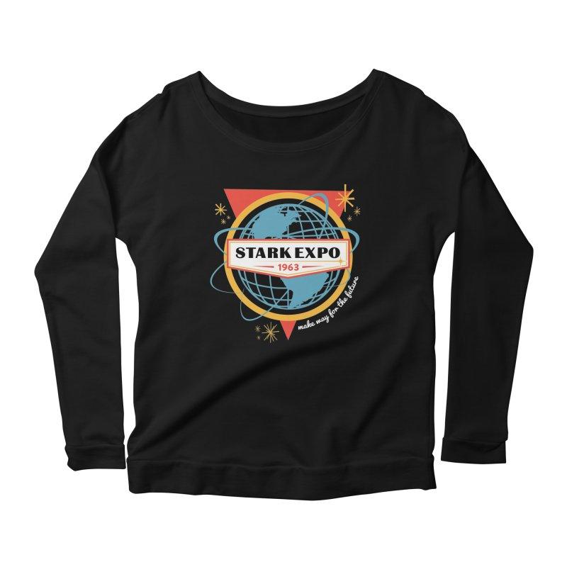 Expo 63 Women's Scoop Neck Longsleeve T-Shirt by Greg Gosline Design Co.
