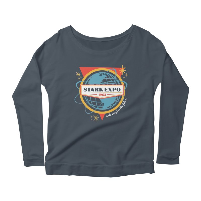 Expo 63 Women's Scoop Neck Longsleeve T-Shirt by Greg Gosline Design Co.