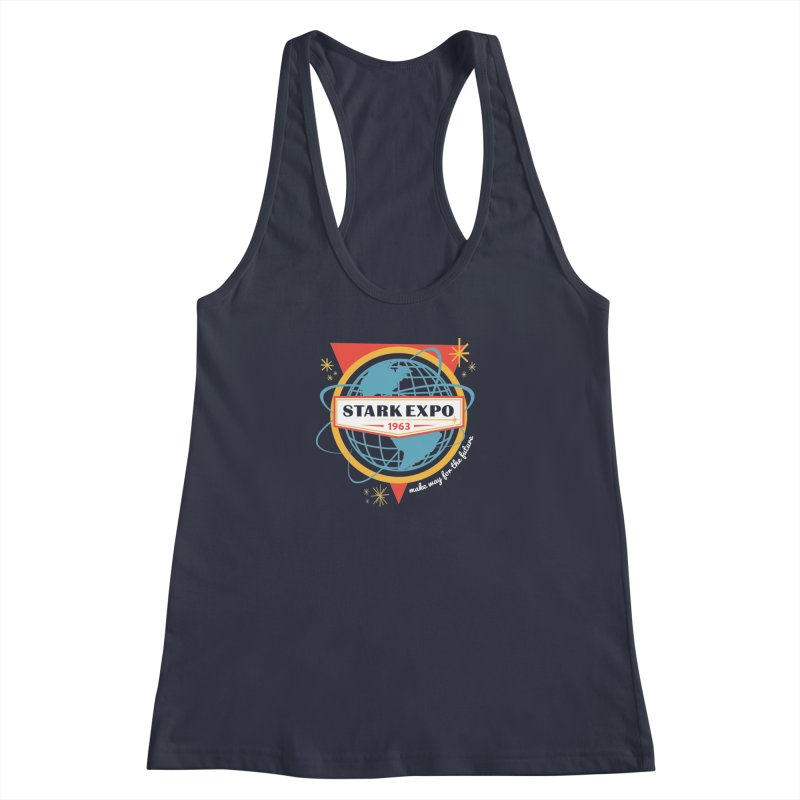 Expo 63 Women's Tank by Greg Gosline Design Co.