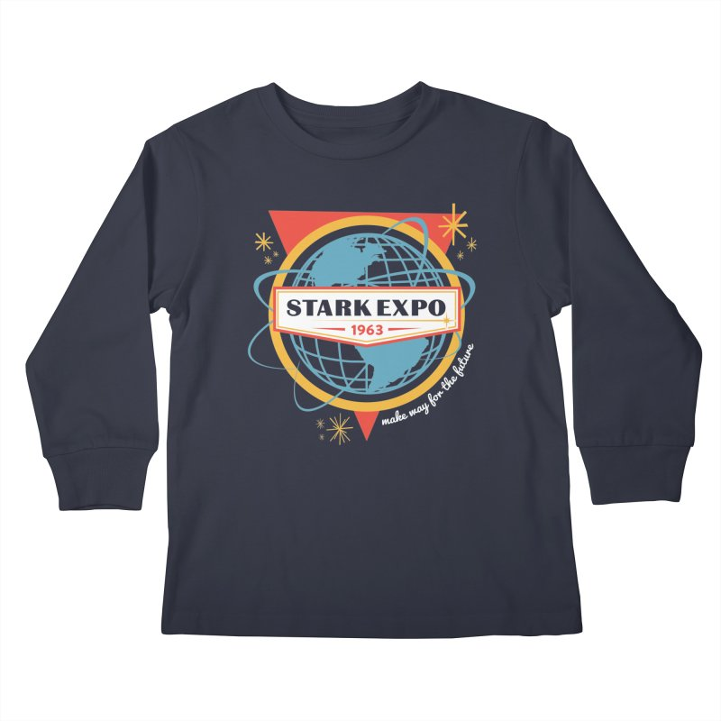 Expo 63 Kids Longsleeve T-Shirt by Greg Gosline Design Co.