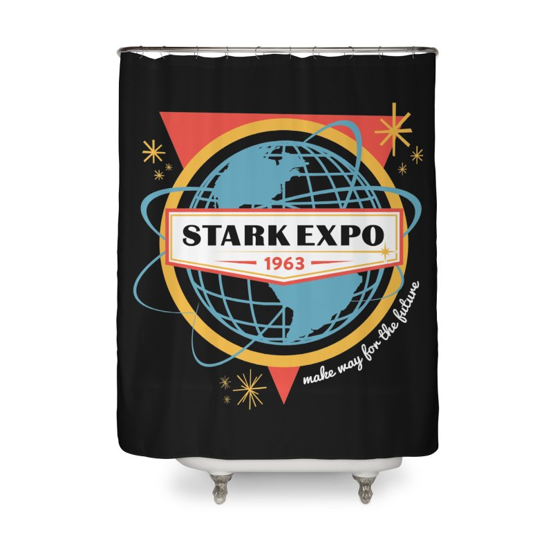 Expo 63 Home Shower Curtain by Greg Gosline Design Co.