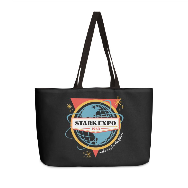 Expo 63 Accessories Weekender Bag Bag by Greg Gosline Design Co.